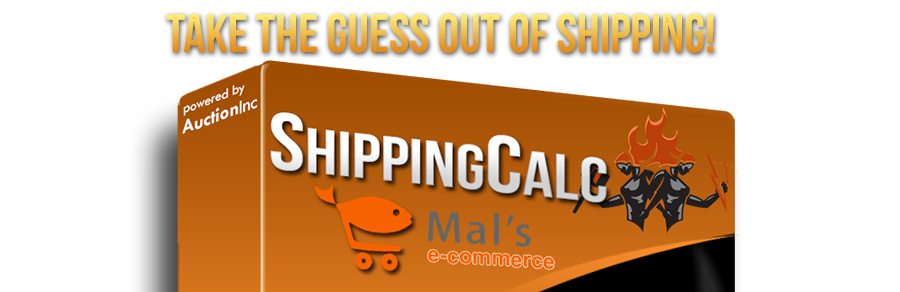 Real-time shipping rates for Mal's
