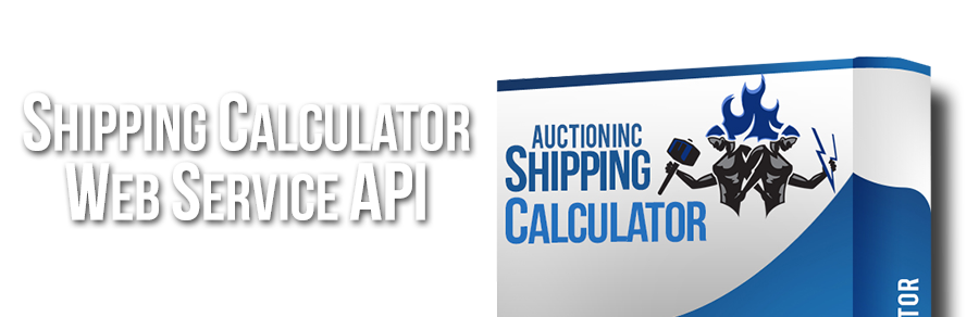 XML Web service for real-time shipping calculations